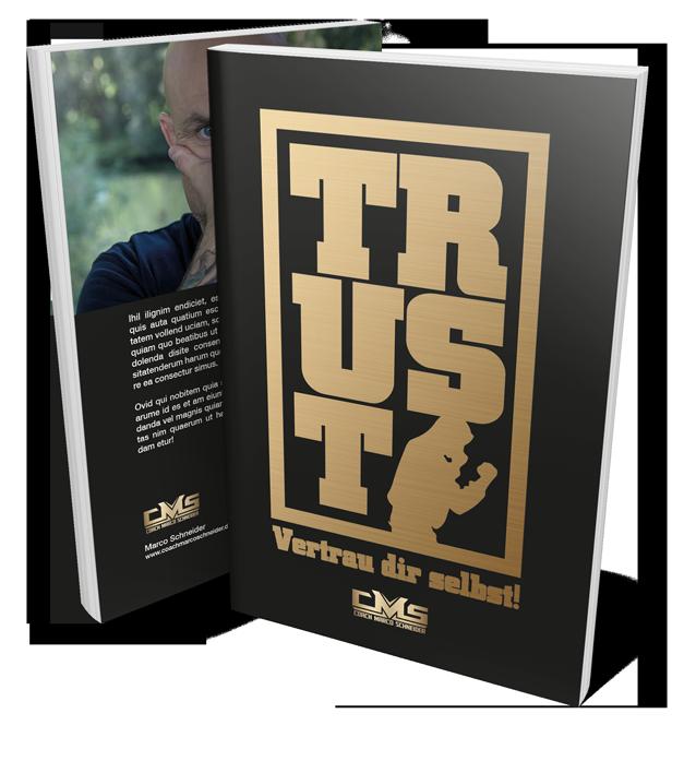 Ansicht des Trust Buches von Marco Schneider